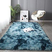 Gradient Color Carpets Non-Slip Soft Rugs Modern