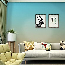 Gradient Color Living Room Wallpaper Nordic