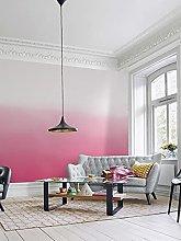 Gradient Red Wallpaper Modern Minimalist Nordic
