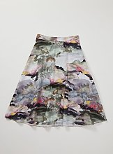 Graduate Fashion Week Watercolour Full Skirt - 24