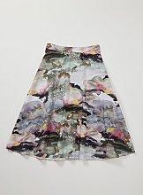 Graduate Fashion Week Watercolour Full Skirt - 8