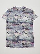 Graduate Fashion Week Watercolour Mesh T-Shirt - 10