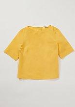 Graduate Fashion Week Yellow Poplin T-Shirt - 24