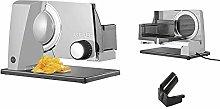 Graef SKS110 electric food slicer, including
