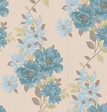 Graham & Brown 50-213 Duchessa Wallpaper, Teal