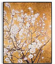 Graham & Brown Oriental Blossom Hand Painted