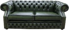 Graham Chesterfield 2.5 Seater Antique Green
