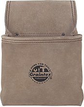 GRAINTEX SS2050 One Pocket Nail & Tool Pouch Beige