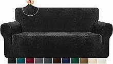 Granbest 1 Piece High Stretch Velvet Sofa Cover