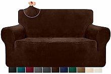 Granbest 1 Piece Luxury Stretch Velvet Sofa Cover
