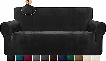 Granbest Plush Velvet Comfy Couch Covers High
