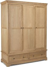 Grand 3 Door Wardrobe August Grove