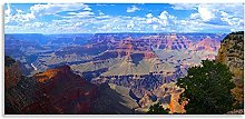 Grand Canyon Landscape Abstract Art Panoramic