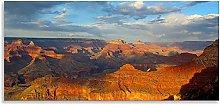 Grand Canyon Landscape Orange Blue Panoramic