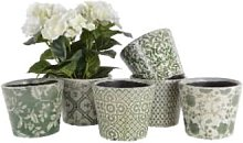 Grand Illusions - Green Old Style Dutch Pot - Green