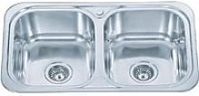 Grand Taps - Inset Kitchen Sink Double Bowl