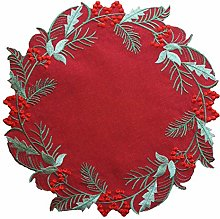 GRANDDECO Holiday Christmas Table Placemat 14""