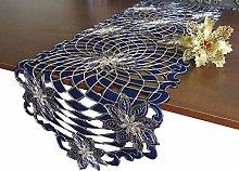 GRANDDECO Holiday Christmas Table Runner,