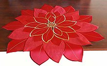 GRANDDECO Holiday Christmas Table Topper
