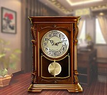 Grandfather Wood Wall Clock with Westminster Chime