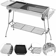 Grandma Shark Stainless Steel Barbecue Grill With