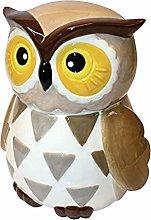Grandma Wild's Ceramic Barney Owl Cookie Jar
