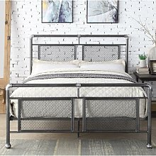 Granger Bed Frame Borough Wharf Size: Double