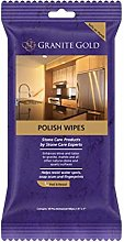 Granite Gold Polish Wipes Pack of 18 Wipes