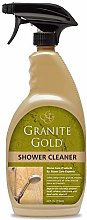Granite Gold Shower Cleaner, Gold, 5.08 x 9.4 x