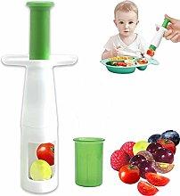 Grape Cutter, Grape Slicer Fruit Slicer for Kids,