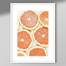 Grapefruit Photography - Fruit Wall Art | Kitchen