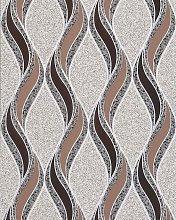 Graphic pattern wallpaper EDEM 1025-13 pebbledash