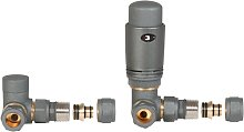 Graphite Axial Thermostatic Angled Set Heater