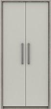 Grasmere 2 Door Wardrobe - White