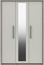 Grasmere 3 Door Mirror Wardrobe - White
