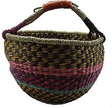 Grass Basket Weaving Grass Basket Storage Basket