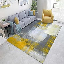 Gray Cheap Rugs Abstract ink pattern living room