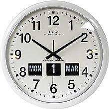 Grayson Clocks Large Dementia Clock With Calendar