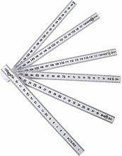 Grbewbonx 6 Folding Ruler Plastic Measuring Tool,