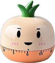 Grbewbonx Cute Food Vegetables Alarm Clock,Time