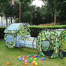 Great Gift ! 3 PCS ARMY CAMOUFLAGE KIDS POP UP