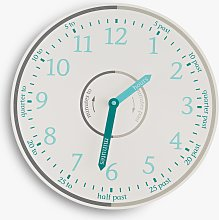 Great Little Trading Co Tell The Time Wall Clock,