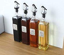 Greatangle 17oz Glass Olive Oil Bottle Set 500ml