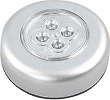 Greatangle 4 LED Control Night Light Round Lamp