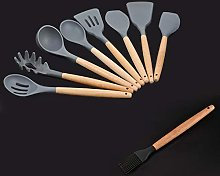 Greatangle Silicone Wooden Handle Kitchen tool