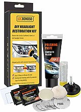 greatdaily Car Headlight Repair Kit, DIY Headlamp