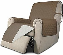 Greatime Recliner Sofa Slipcover Reversible Sofa