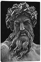 Greek Zeus god Mythology Painting Wall Art Canvas