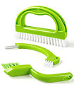 Green 3 In 1 Tile Grout Cleaning Brush Mould