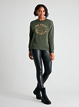Green 'The Great Outdoors' Sweatshirt - 10